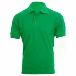 Hosiery Printed Mens Collar T Shirt