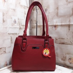 Red Ladies Shoulder Bag