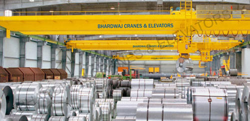 Steel Mill EOT Cranes, For Industrial, Max Load Capacity: 10-20 ton