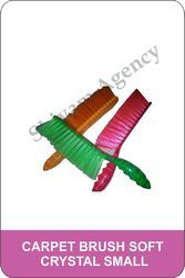 Plastic Shivam Agency Soft Carpet Brush, Packaging Type: PP Bag, For Industrial
