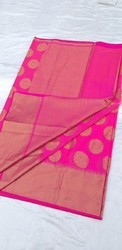 Chanderi Cotton Saree with Blouse