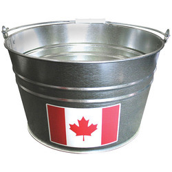 Round Galvanized Steel Tub - NJO 1626