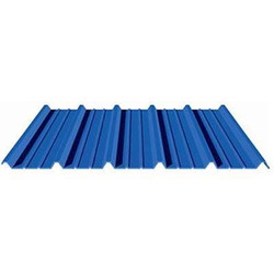 Blue Corrugated Profile Roofing Sheet