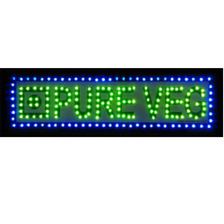 Blue and Green LED Display Electronic Boards
