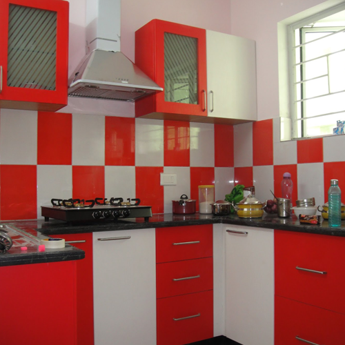 Colourful Modular Kitchen Design: Manufacturer Of Modular Kitchen & Modular Wardrobe By Coronet Design Private Limited, Chennai