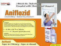 Linzolid with Dextrose infusion