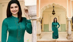Vinay Fashion Present Tumbaa Rain Georgette Ready To Wear Kurtis