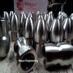Silver S.s 304 Sewer Cleaning Nozzles