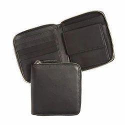 Men's Zippered Wallet