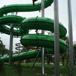Tube Spiral Water Slide