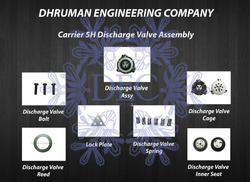 Carrier 5H Discharge Valve Assembly