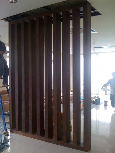 Wood Partition Office Interiors Designing Amp Decoration
