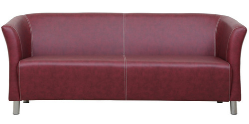 FABRIC Red Ruby - 3 Seater Sofa