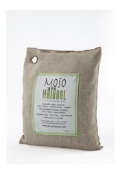 100% Activated Beige Moso Natural Bamboo Charcoal Air Purifying Bag 200gm