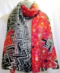 Voile Printed Fancy Scarves