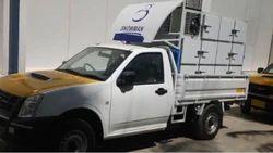 Stainless Steel FOW Freezer On Wheel, Capacity: 1-10 ton