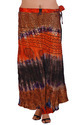 Designer Tie Dye Wrap Around Skirt