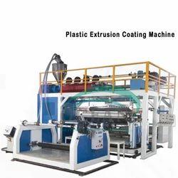 Plastic Extrusion Coating Machine
