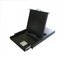 4ports/8ports/16ports 1u Rack Mount 19 Inch LCD KVM Drawer