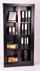 Book Sliding Door Cupboard