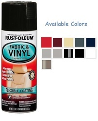 Rust Oleum Automotive Fabric Vinyl Coating Spray