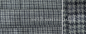Grey And Black Tartan Check Fabric, Gsm: 250 To 480, For Garments