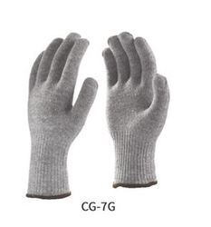 Poly Cotton Knitted Seamless Gloves