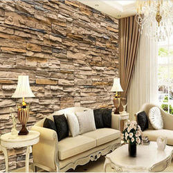 Amazing Living Room Wallpaper, Interior Wallpaper   Intro World, Kolkata | ID:  12936339773 Part 5