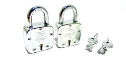 Hilam 9 levers 3 keys 60mm double locking Padlock