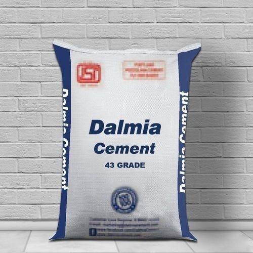 Dalmia OPC 43 Grade Cement, Packaging Size: 50 Kg