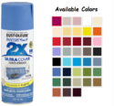 Rust-Oleum Painter's Touch 2x Acrylic Spray Paints - Satin