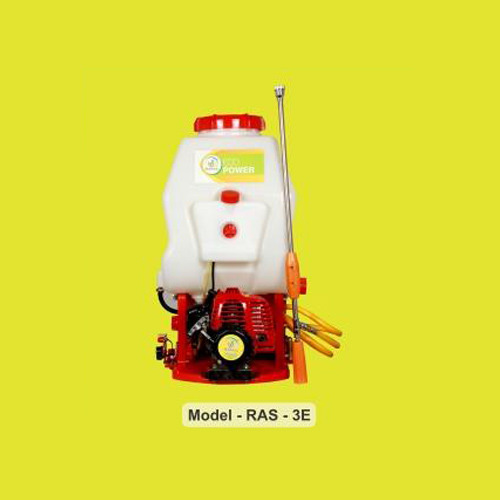 Rahul Brass Heavy RAS 03E Eco Power Knapsack Sprayers, Capacity: 20 liters