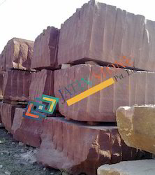 Agra Red Sandstone Blocks