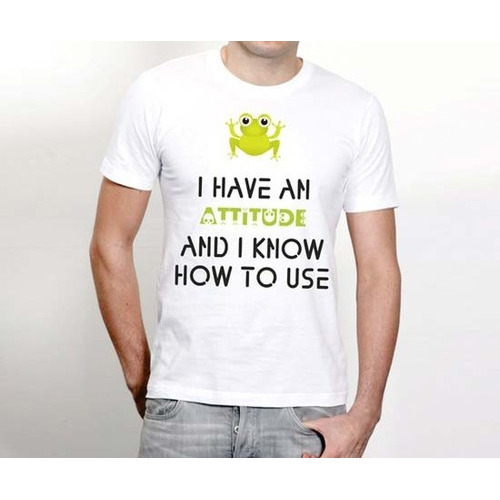 c22a1b0e Mens Funny Quotes Designer T Shirt at Rs 150 /piece | Mens T-shirts ...