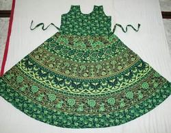 Women Rajasthani Print Dress