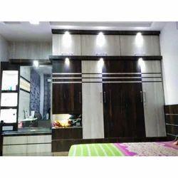 Designer Wall Wardrobe, Wall Wardrobe   Sai Interiors, Kolkata | ID:  13878376073