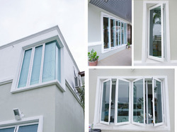 Aluminum Sliding Window With Grill