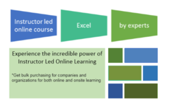 Fast Training on MS-Excel