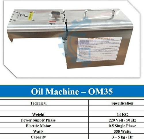 Oil Making Machine