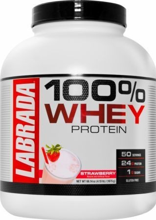 Isolate Lean Muscle Mass Labrada 100% Whey Protein, Packaging Type: Plastic Container, Capacity: 1875 Gm