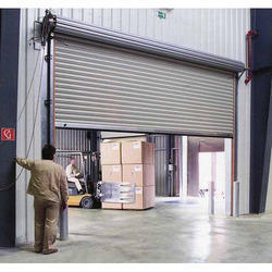 Commercial Electric Rolling Shutter