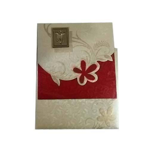 Fancy wedding card greeting invitation cards ja cards in fancy wedding card stopboris Choice Image