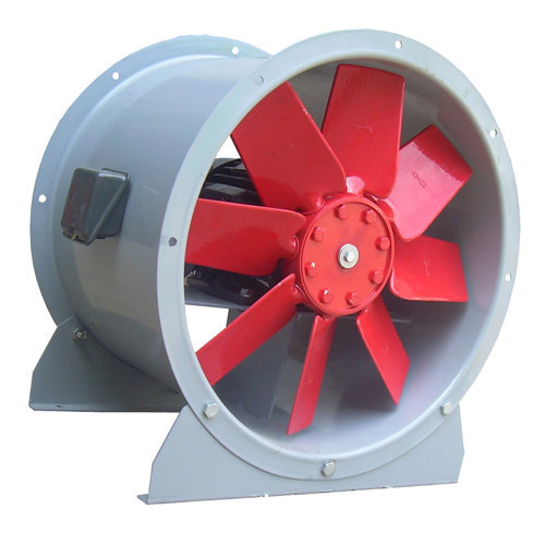 Axial Flow Fan Manufacture From India - Belt Driven Axial