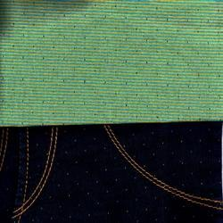 Indigo Satin Denim Fabric