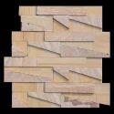 Teak Rainbow Mosaic Tile