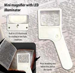 Magnifier with LED Illuminator