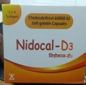 Cholecalciferol 60000 IU Soft Gelatin Capsules