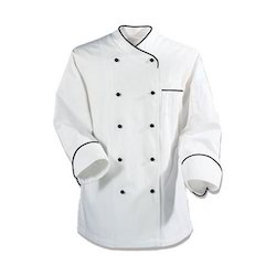 Unisex Cotton And Polyester Chef Uniform
