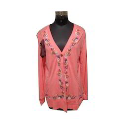 Knitted Embroidered Jacket