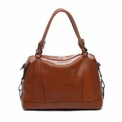 Handbags Brown Ladies Hand Bag, for Office